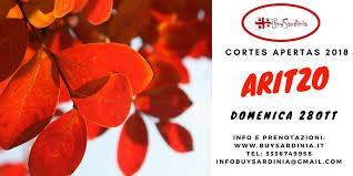 AVVISO PUBBLICO CORTES APERTAS ARITZO IN BARBAGIA ANNUALITA' 2018