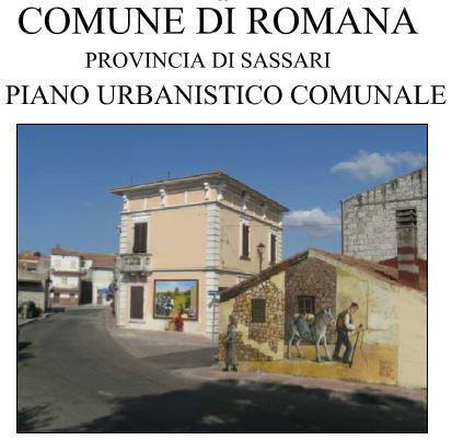 Avviso di deposito del Piano Urbanistico Comunale di Romana in adeguamento al Piano Paesaggistico Regionale (P.P.R.) e al Piano di Assetto Idrogeologico (P.A.I.)